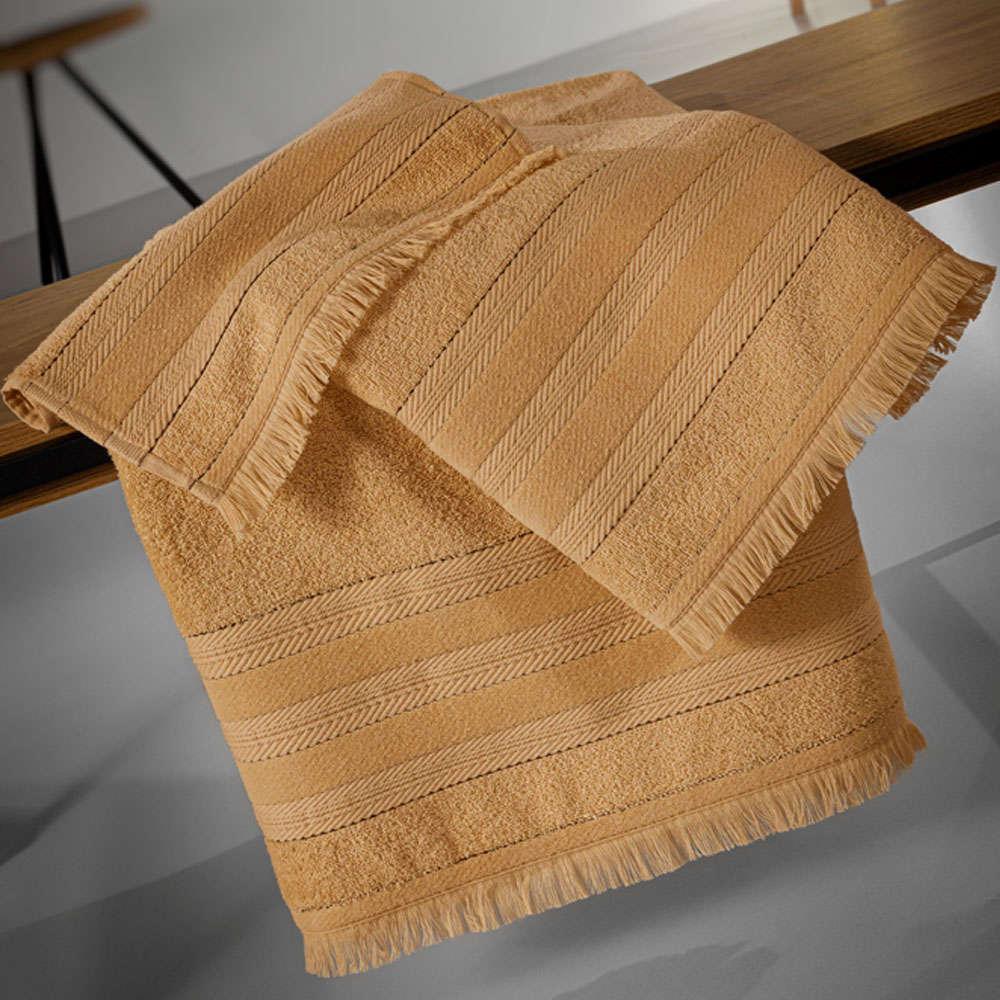 Πετσέτες Σετ 3τμχ Massimo Bronze Guy Laroche Σετ Πετσέτες