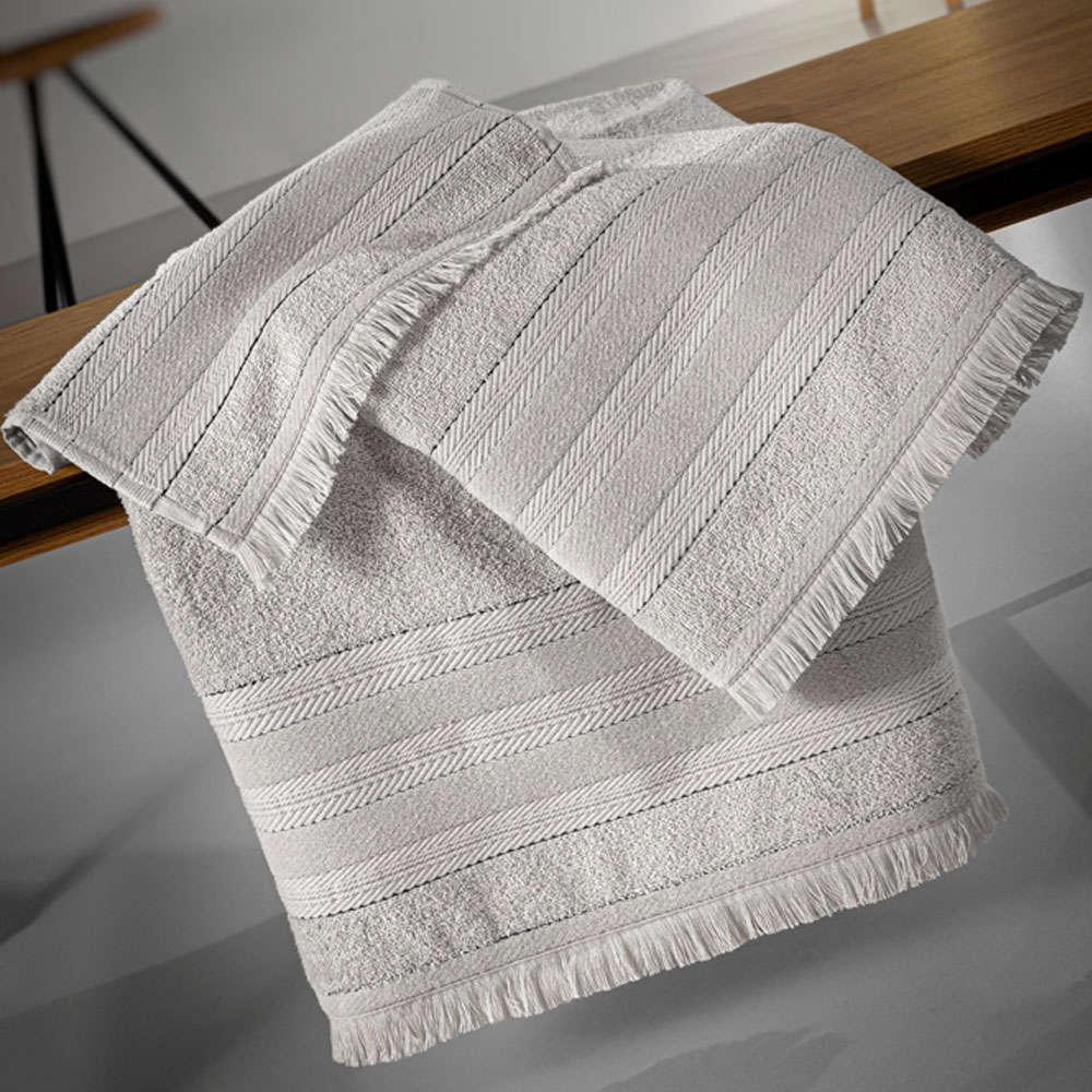 Πετσέτες Σετ 3τμχ Massimo Silver Guy Laroche Σετ Πετσέτες