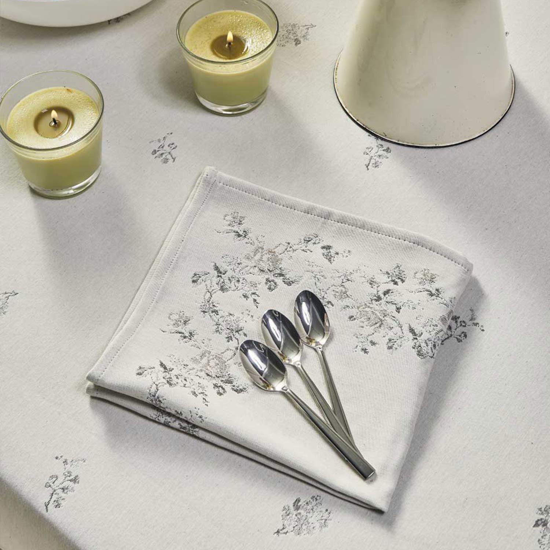 Πετσέτες Φαγητού Σετ Swell 26 White Kentia 50X50