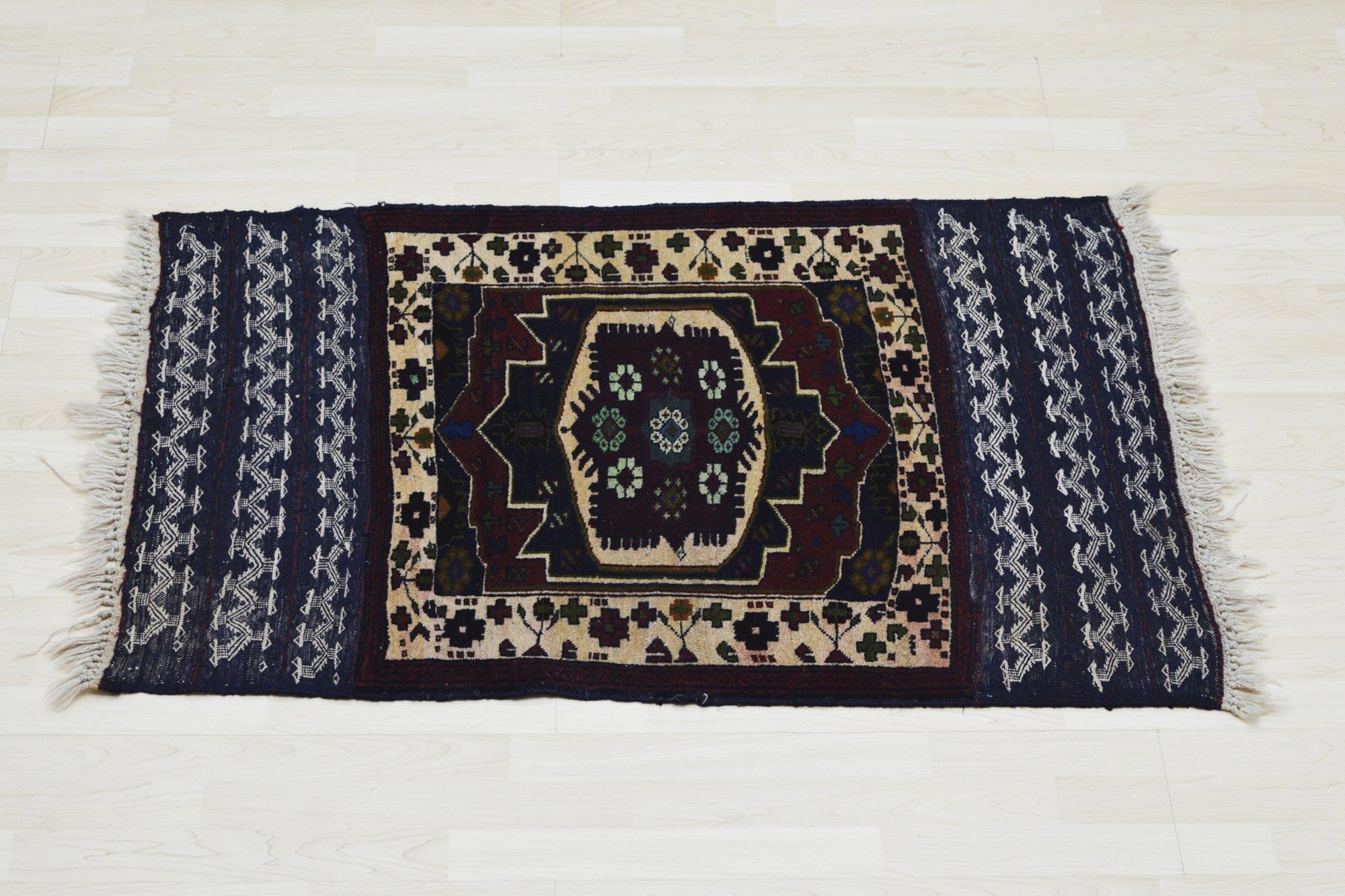 Χειροποίητο Χαλί Persian Nomadic Kilim Wool 118X84 70X150