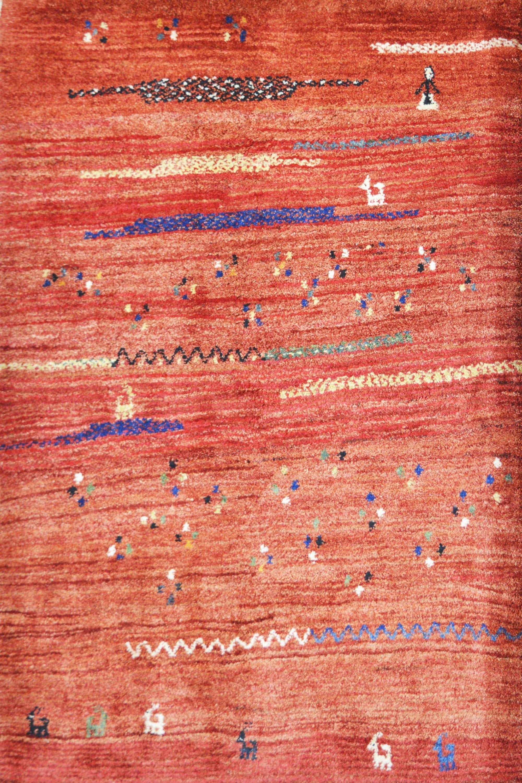 Χειροποίητο Χαλί Persian Gabbeh Wool 150Χ175 140X200