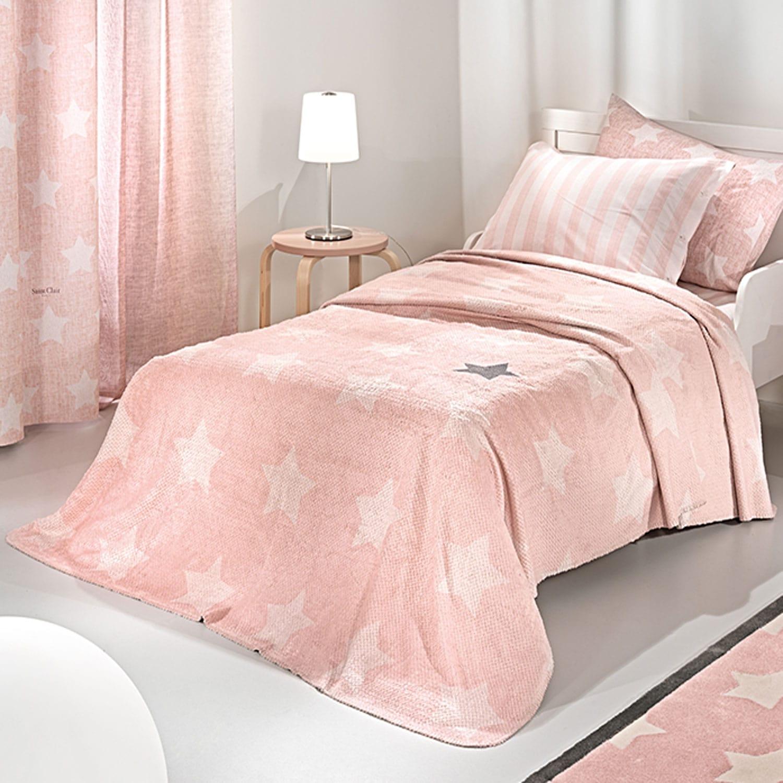Κουβέρτα Παιδική Pirineo Pink Saint Clair Μονό 160x220cm