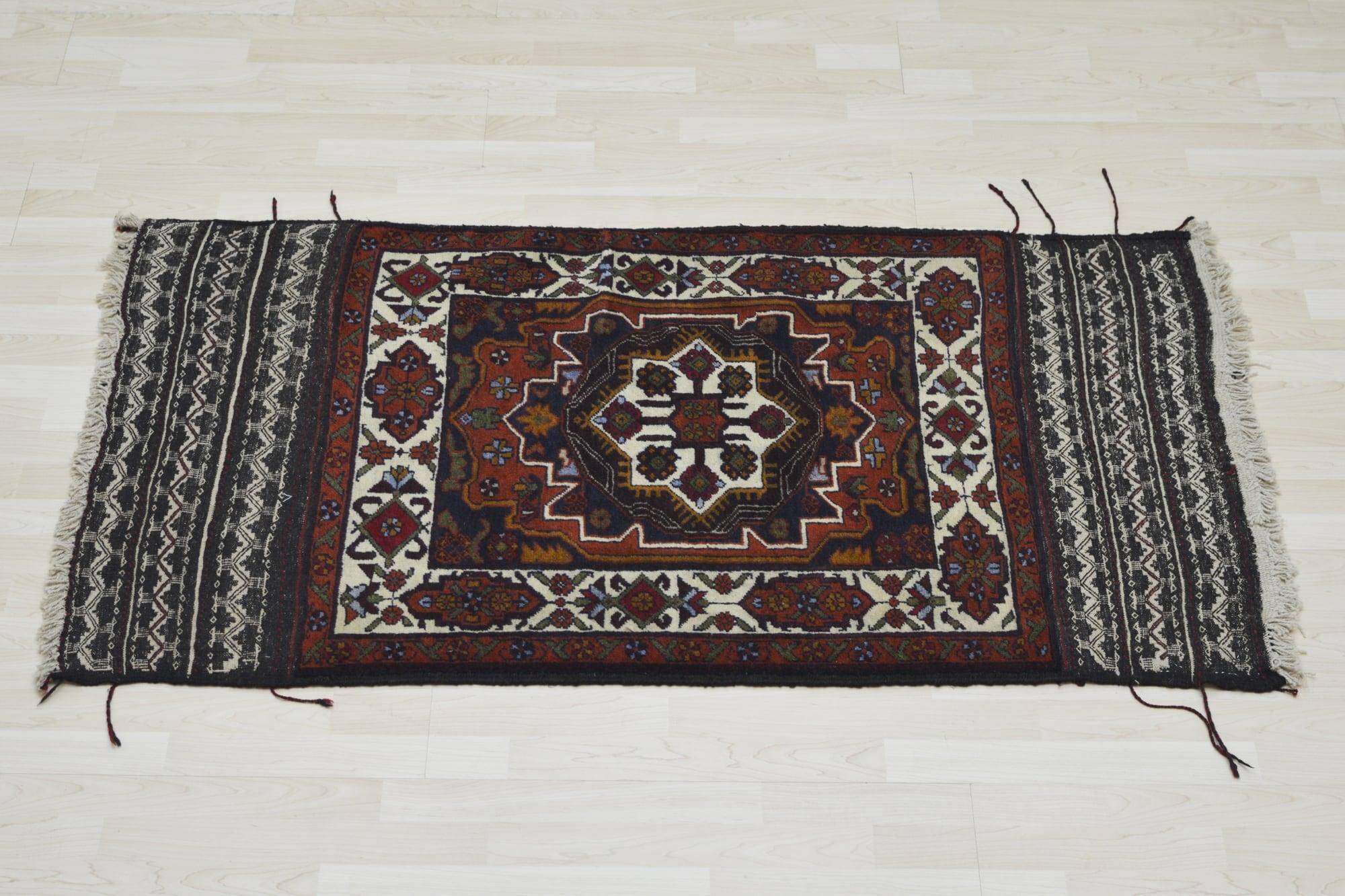 Χειροποίητο Χαλί Persian Nomadic Beloutch Kilim 148X89 70X150