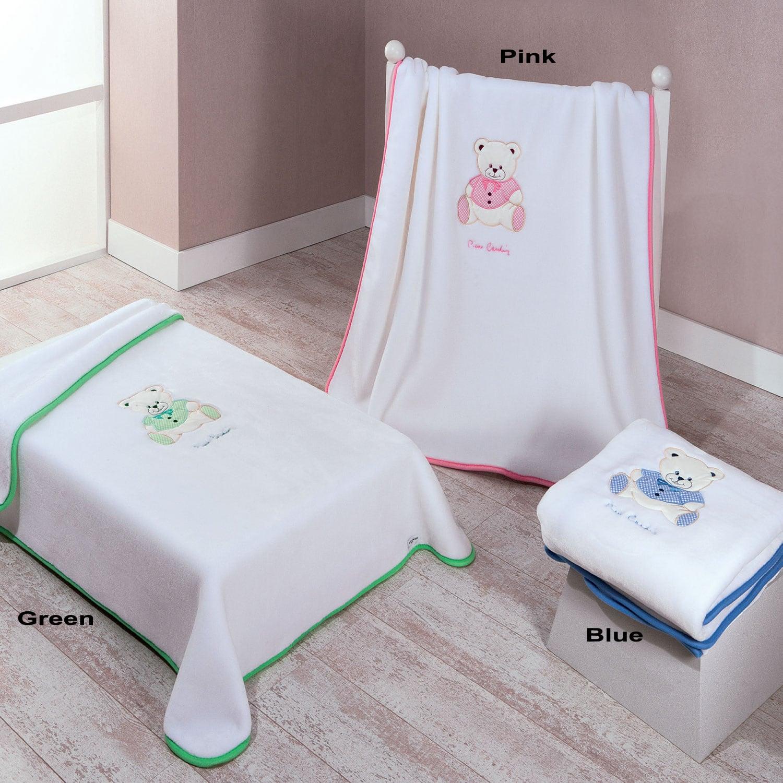 Κουβέρτα 545 G Pink Pierre Cardin Κούνιας 110x140cm