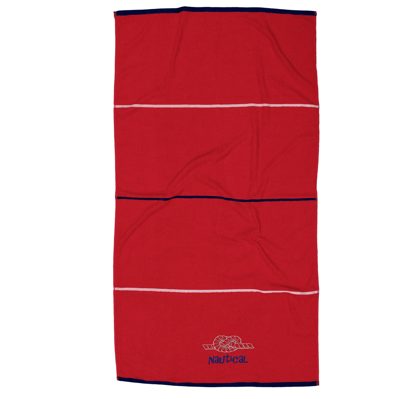 Πετσέτα Θαλάσσης Nautical Red Anna Riska Θαλάσσης 90x160cm