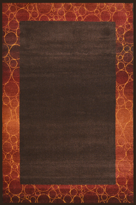 Χαλί Μc Τηrεε Diamond 3235 Chocolate-Copper 160X230