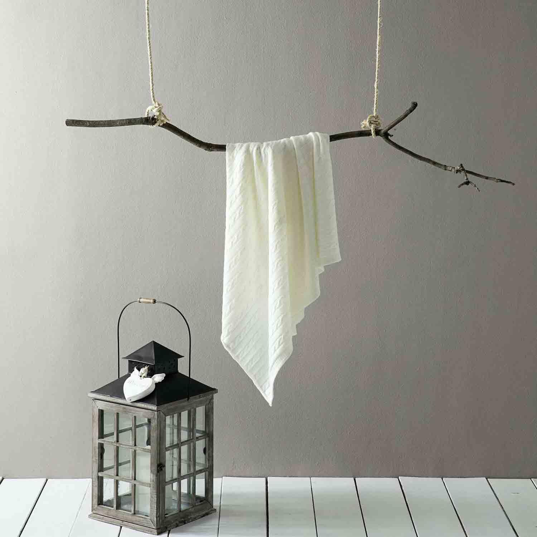 Κουβέρτα Pecora Ivory Nima 150X180 130x170cm