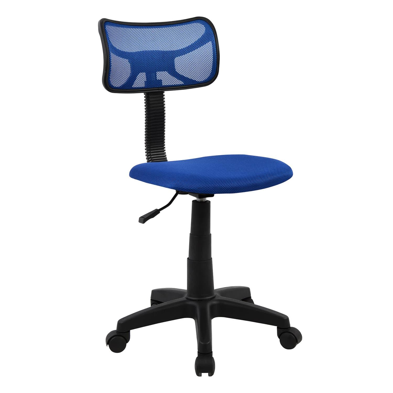 Καρέκλα Γραφείου Hm1026.06 Μπλέ 40,5Χ50,5Χ91,5cm