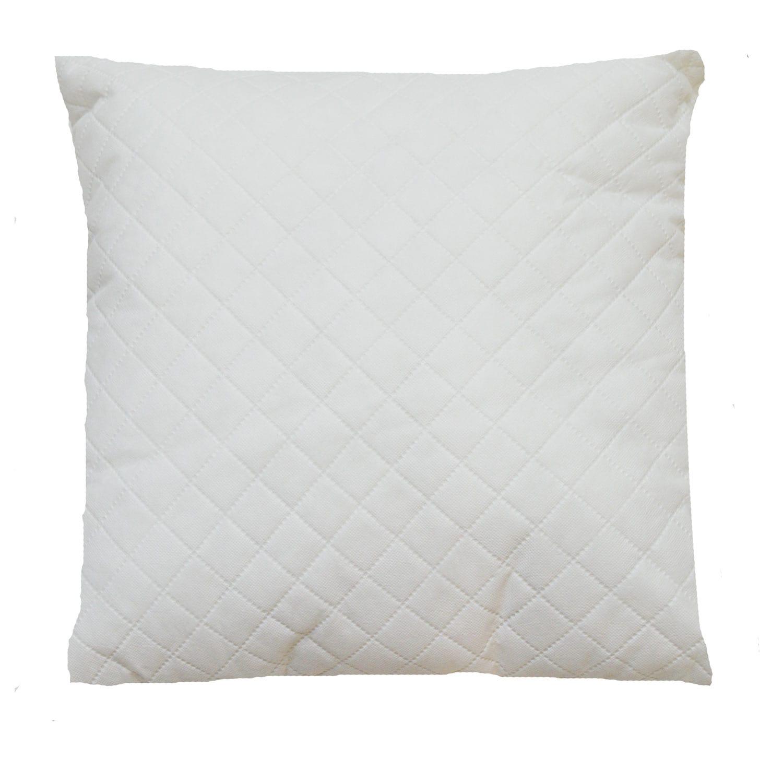 Μαξιλάρι Διακοσμητικό (Για Γέμισμα) White 70Χ70 100% Polyester