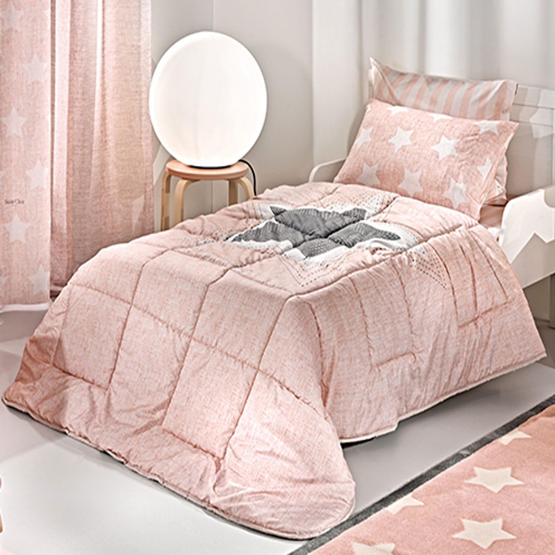 Παπλωματοθήκη Παιδική Pirineo Pink Saint Clair Μονό 160x220cm
