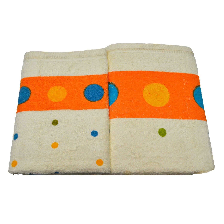 Πετσέτες Σετ Moon Orange Σετ Πετσέτες