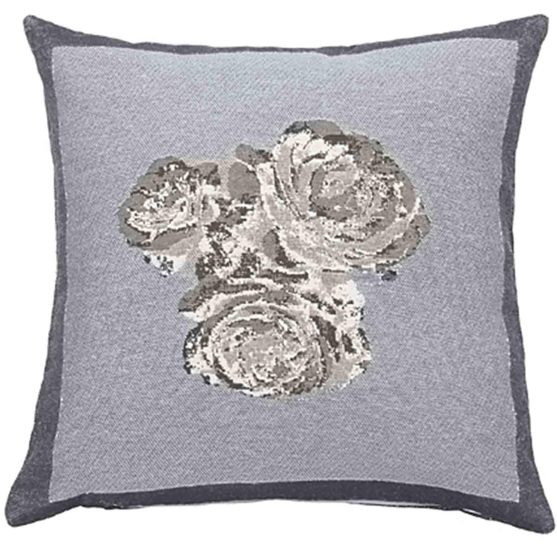 Διακοσμητική Μαξιλαροθήκη Carmen Grey Nima 50X50 Βαμβάκι-Polyester