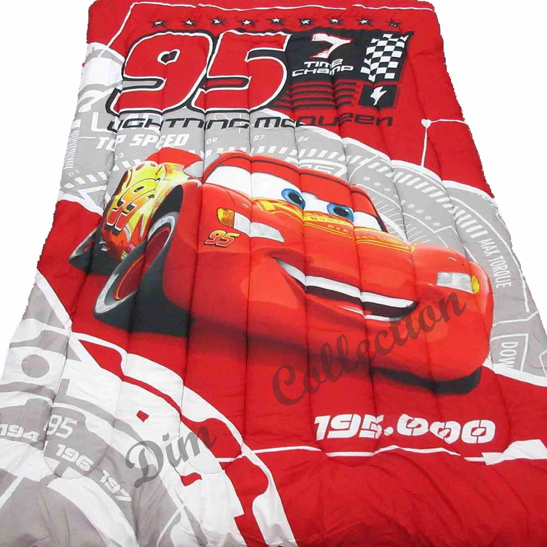 Πάπλωμα Παιδικό Cars 04 Ψηφιακό Red DimCol Μονό 160x250cm