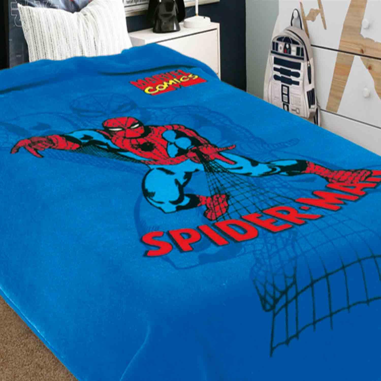 Κουβέρτα Παιδική Ster Spiderman Multi Belpla Μονό 160x220cm
