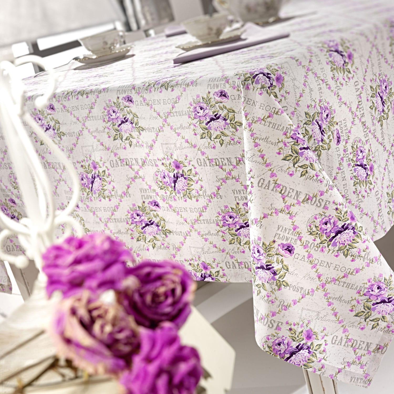 Τραπεζομάντηλο Garden Rose Lilac Nima 150X250