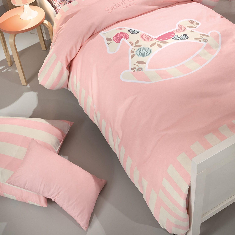 Πάπλωμα Παιδικό Toy Pink Saint Clair Μονό 160x220cm
