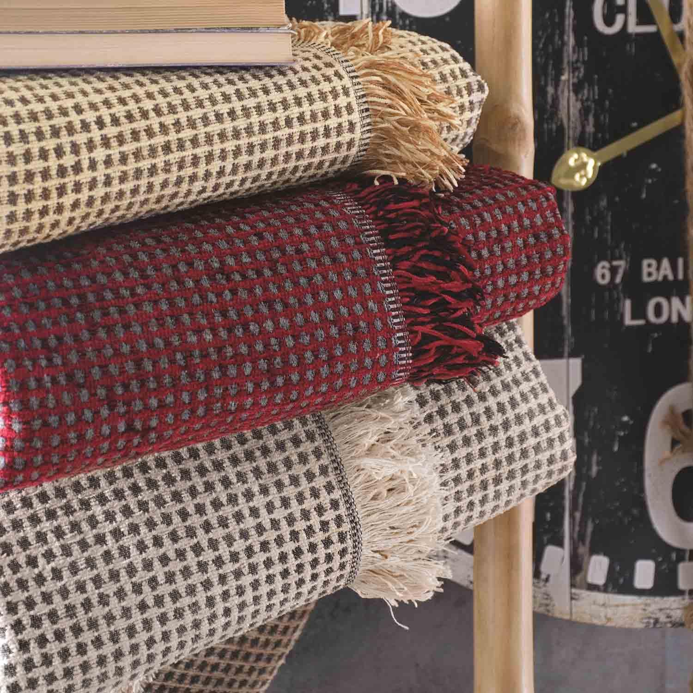 Ριχτάρια Σετ 3τεμ Smith 01 Grey Ρυθμός Σετ Ριχτάρια 180x240cm