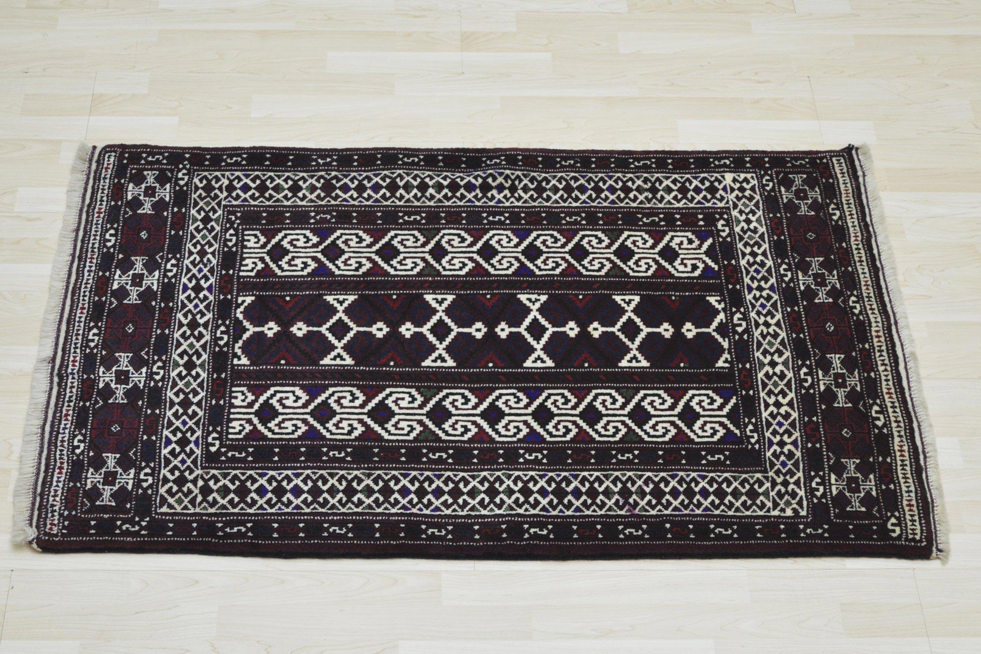 Χειροποίητο Χαλί Persian Nomadic Beluch Wool 131Χ93 70X150