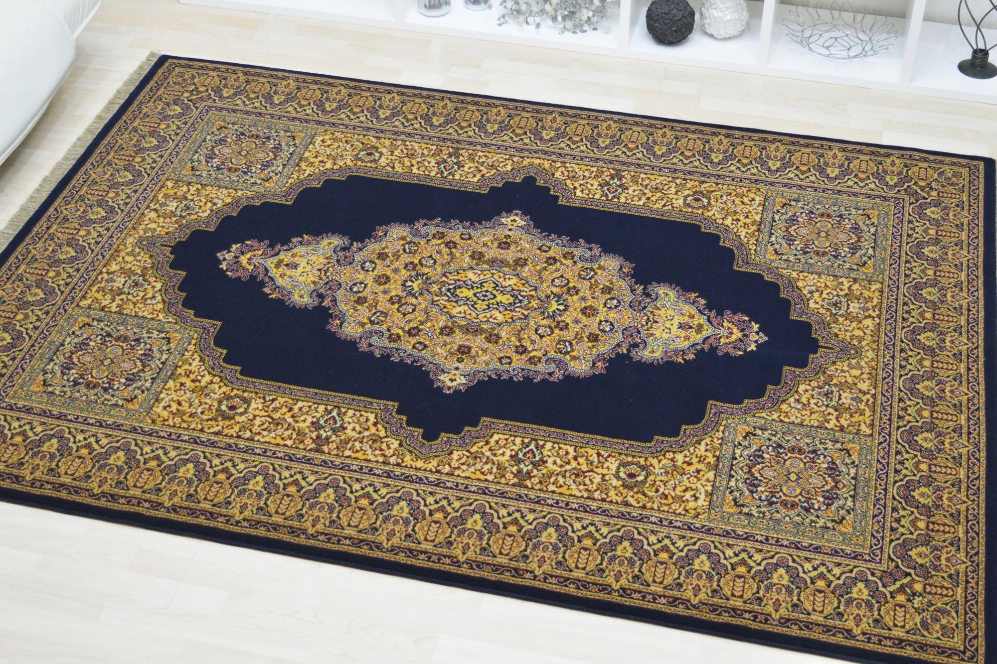Χαλί Roubayat Kerima 30-10 Blue-Yellow 200X250