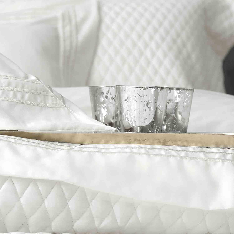 Κουβερλί + Σεντόνια Σετ Garden White 7τμχ. Ρυθμός Υπέρδιπλo 235x250cm