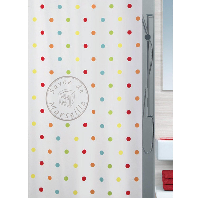 Κουρτίνα Μπάνιου Frioul 02403.001 Beige 180X200 cm Spirella Φάρδος 180cm 180x200cm