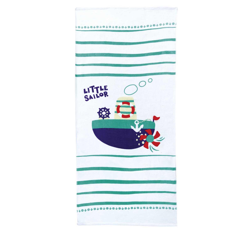 Πετσέτα Παιδική Θαλάσσης Little Sailor Nima Θαλάσσης 75x150cm