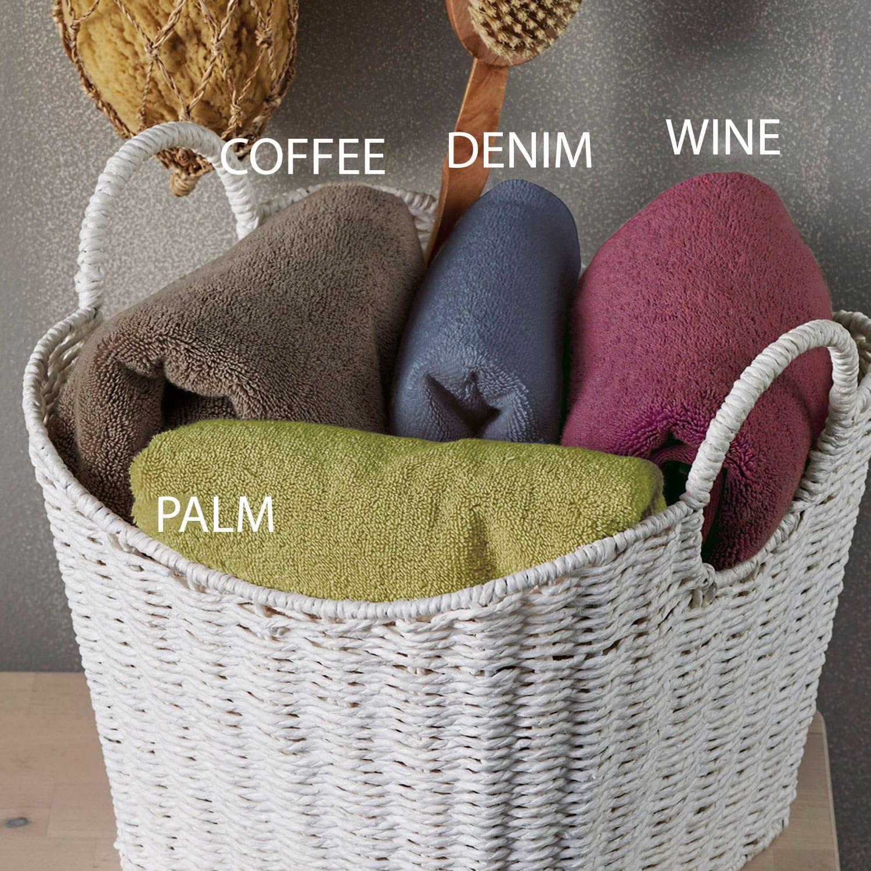 Πετσέτα Luxury Coffee Kentia Σώματος 80x150cm