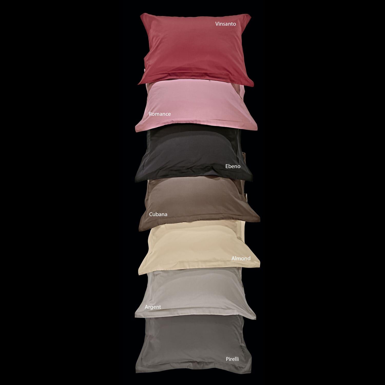 Μαξιλαροθήκη Σετ 2τμχ Superior Dusty Pink Nima 50Χ70 50x70cm