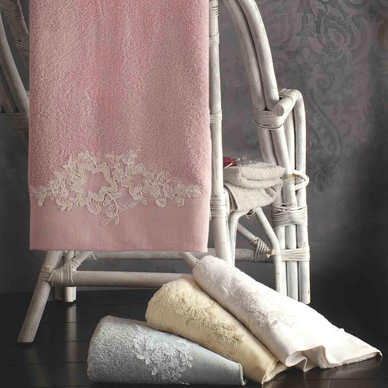 Πετσέτες Σετ Frida White Ρυθμός 3τμχ