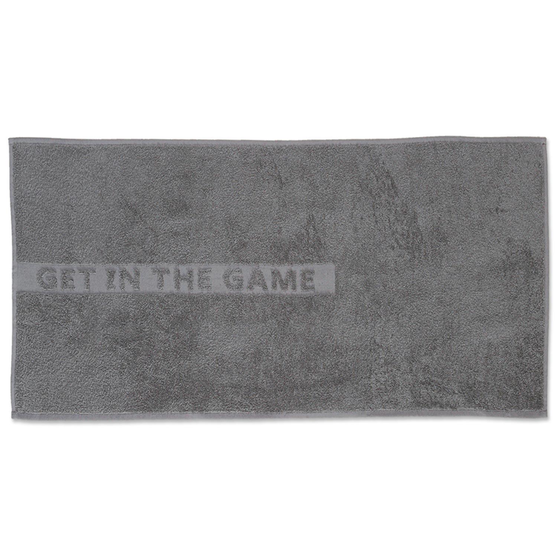 Πετσέτα Γυμναστηρίου Πάγκου-Στρώματος Grey Nef Nef Γυμναστηρίου 45x100cm