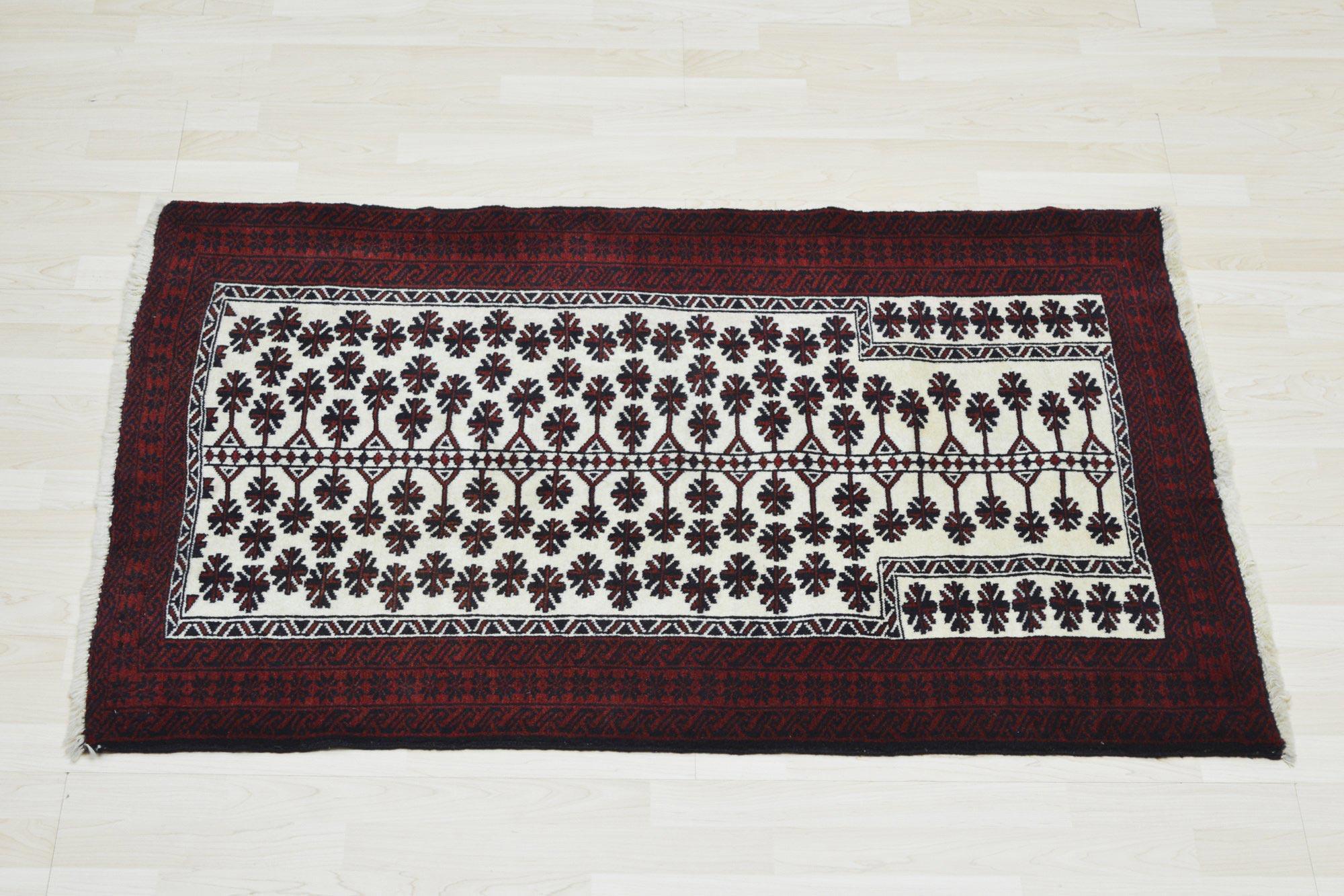 Χειροποίητο Χαλί Persian Nomadic Beluch Wool 127Χ91 70X150