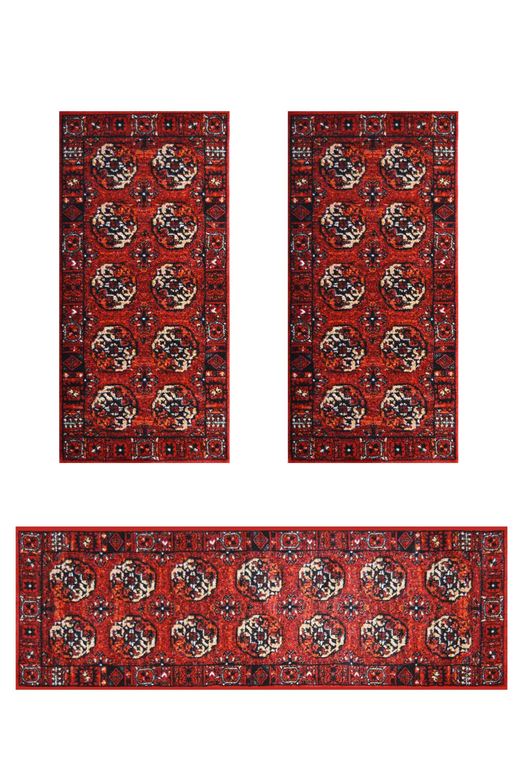 Σετ Κρεβατοκάμαρας 3Τμχ. Mohamadi 21330-010 Red SET