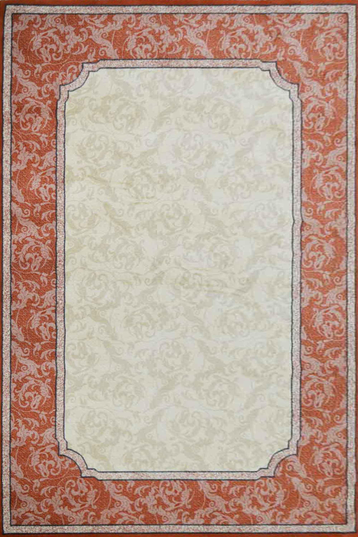 Χαλί Kasir Beige-Copper Barok 70X220