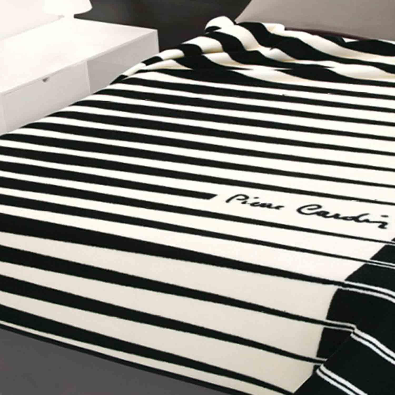 Κουβέρτα Nancy 244 Black Pierre Cardin Υπέρδιπλo 220x240cm
