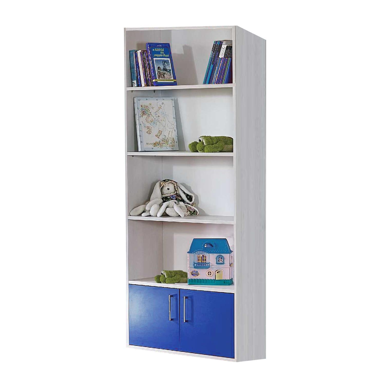 Βιβλιοθήκη Παιδική Lilalo Light Grey-Blue 80X32X187 cm