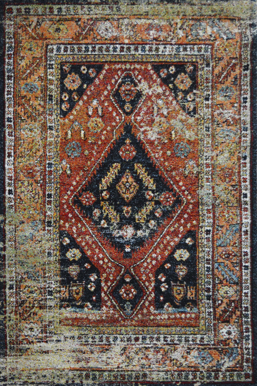 Χαλί Mohamadi 21132-091 Rust-Black 200X300