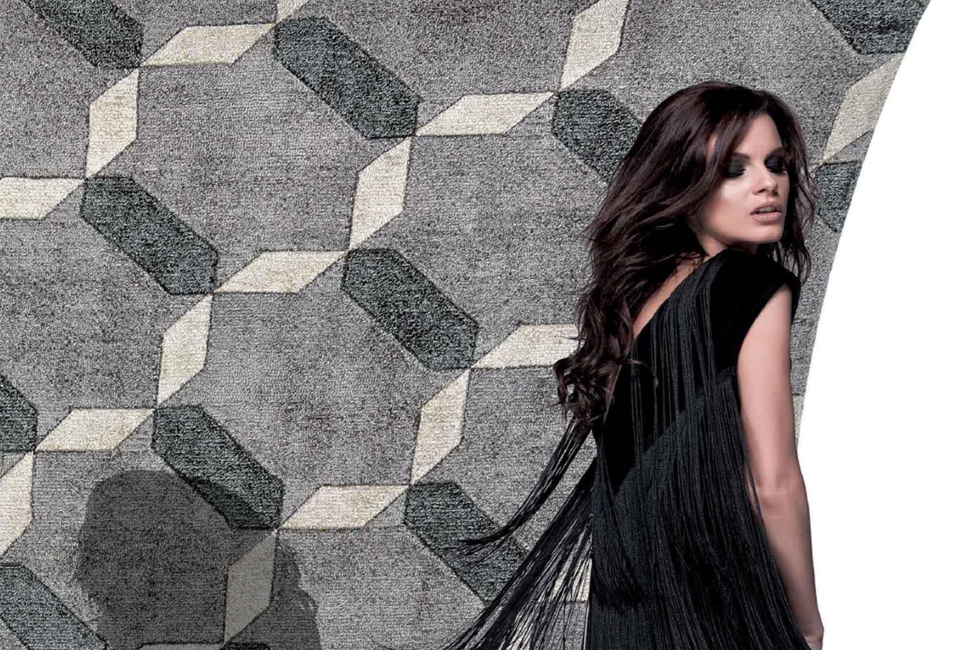 Χαλί Penelope Grey Carpet Couture 200X300
