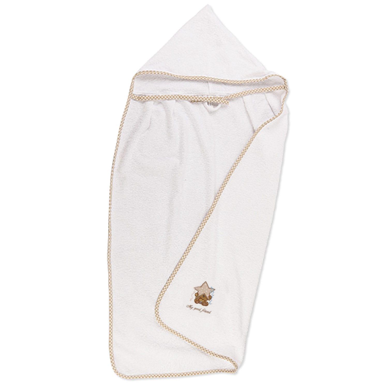 Κάπα Βρεφική Αστέρι Λευκό DimCol 0-2 ετών One Size