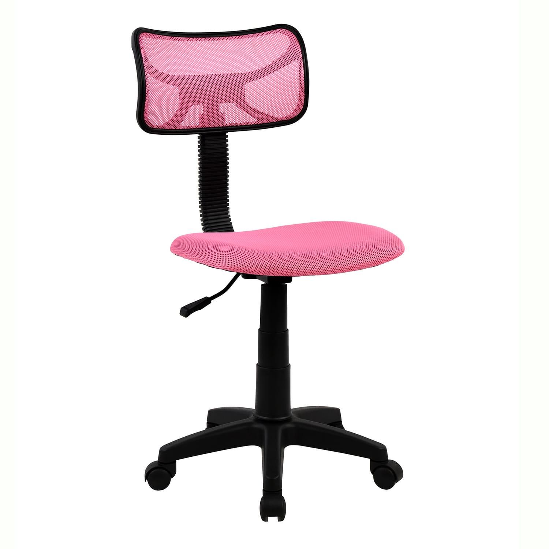 Καρέκλα Γραφείου Hm1026.05 Ροζ 40,5Χ50,5Χ91,5cm