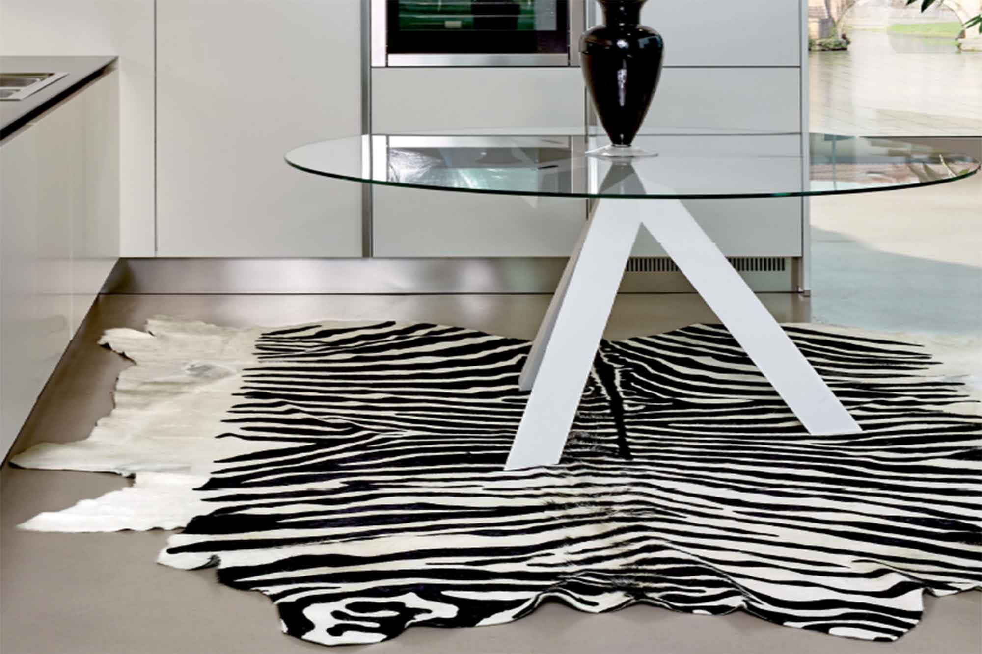 Χαλί Pelle Stampata Zebra Carpet Couture 200X250