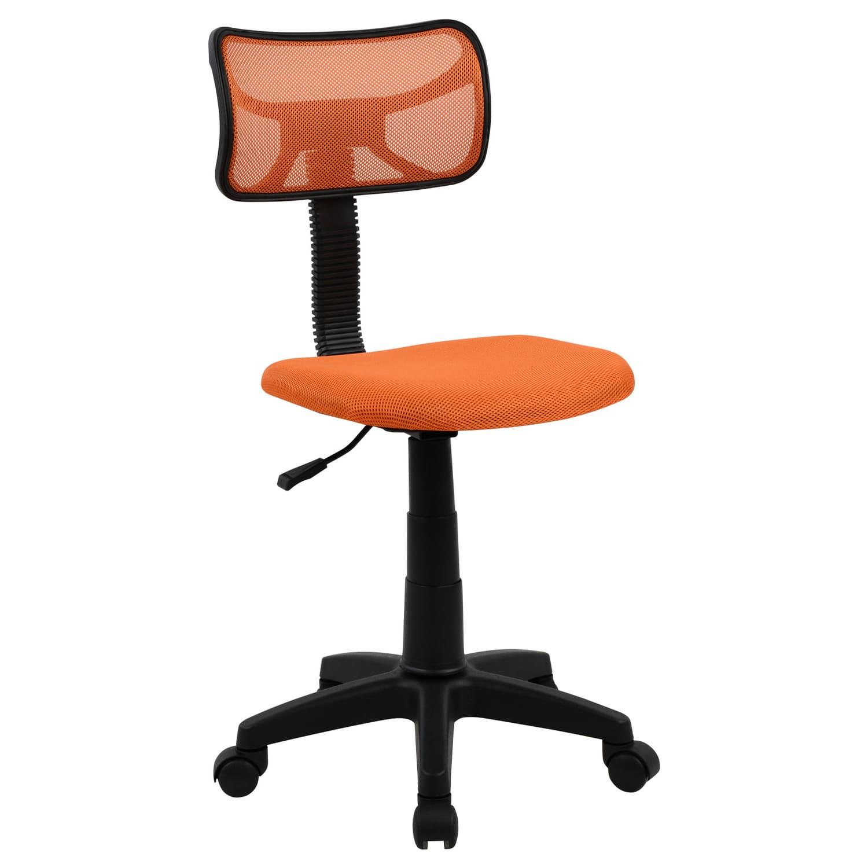 Καρέκλα Γραφείου Hm1026.02 Πορτοκαλί 40,5Χ50,5Χ91,5cm