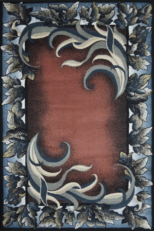 Χαλί Sabah Blue-Terracotta 160X230
