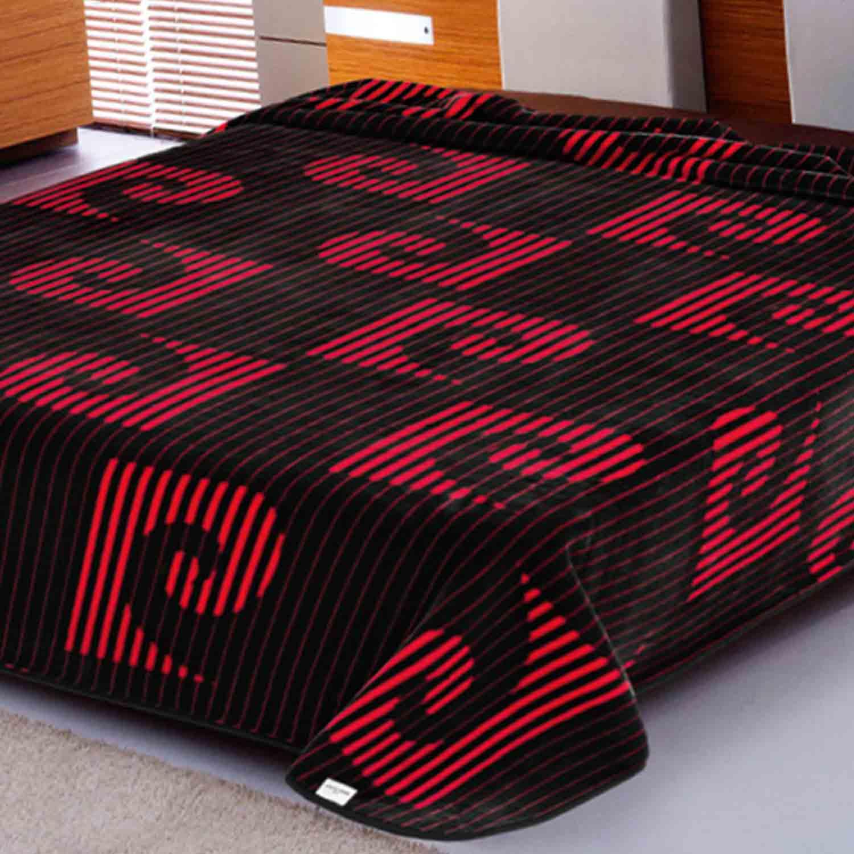 Κουβέρτα Nancy 267 Red Pierre Cardin Υπέρδιπλo 220x240cm