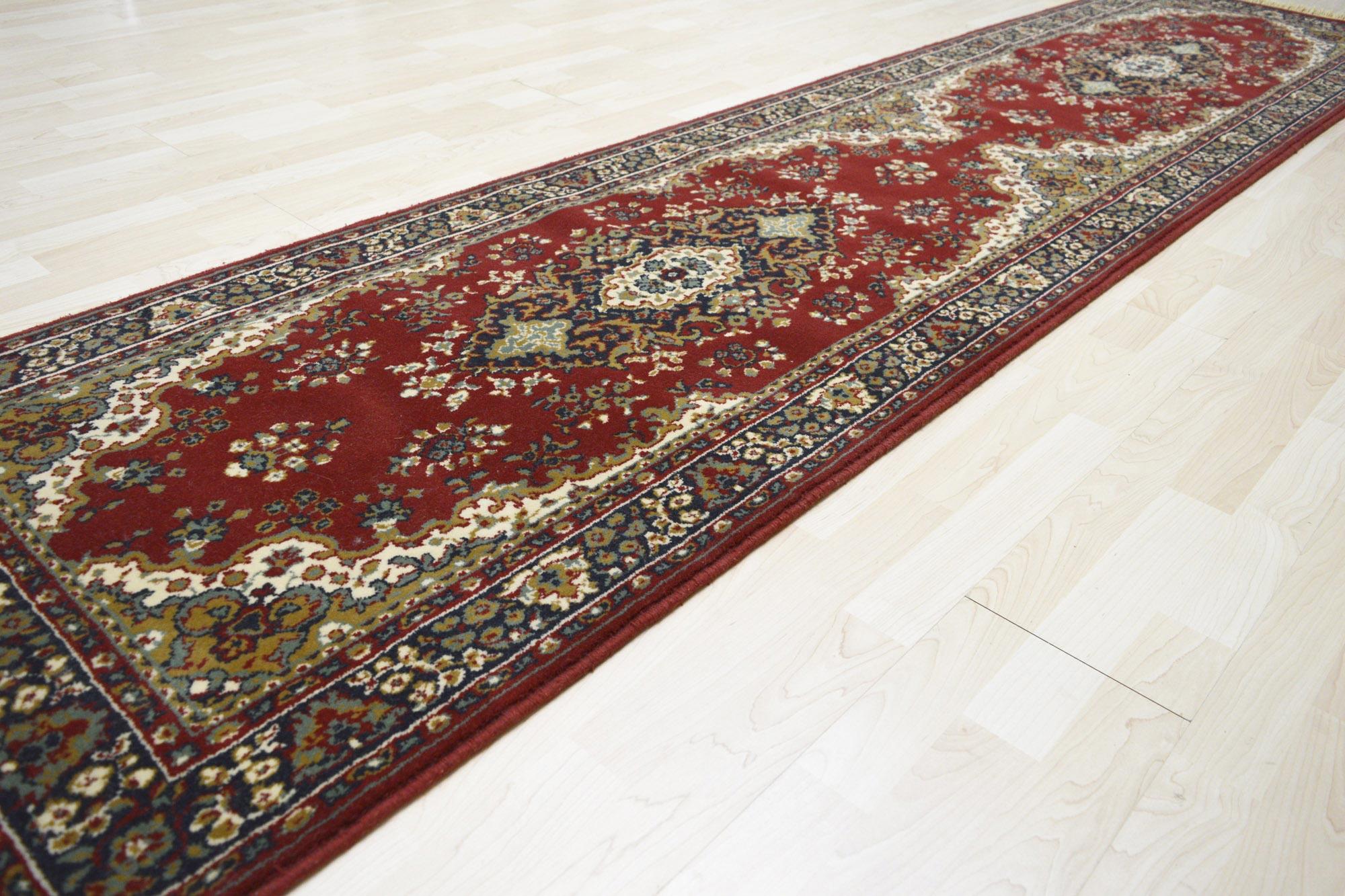 Χαλί Topcarpet Istar Wool 802 Bordo-Olive 70X220
