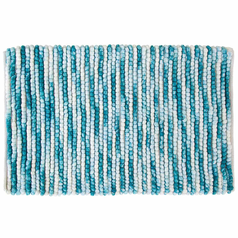 Πατάκι Μπάνιου Mistras 05541.002 Blue Large 60x90cm