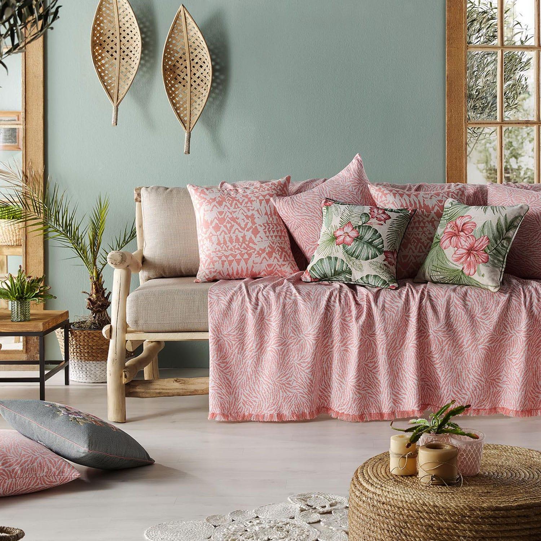 Ριχτάρι Apple Pink 525 Gofis Home Διθέσιο 180x250cm