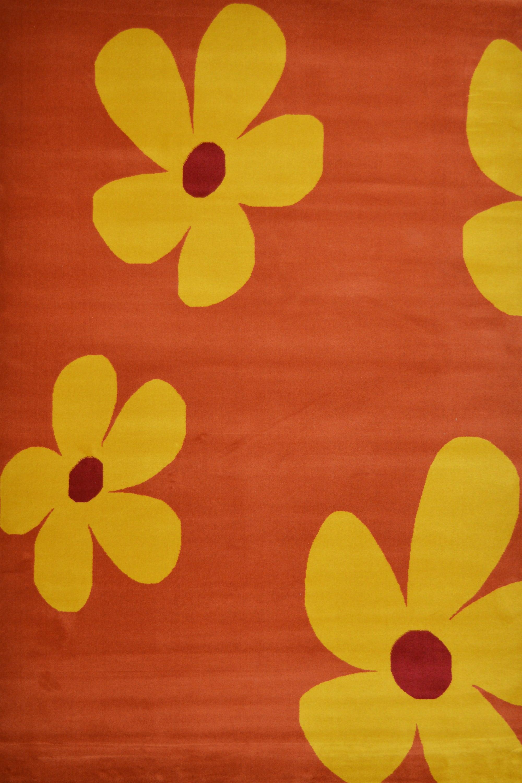Χαλί New York 1281/46 Orange-Yellow 70X220