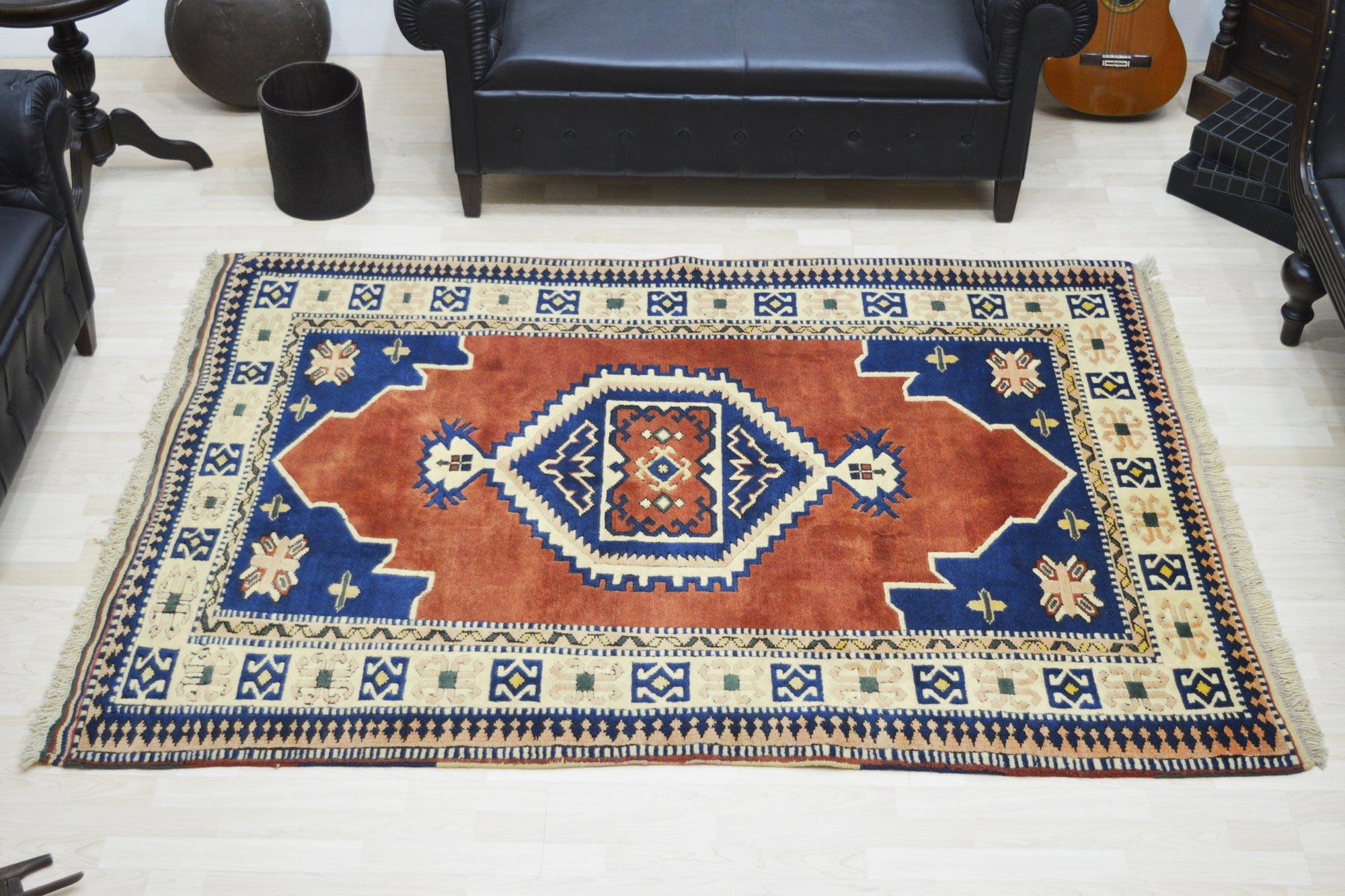Χειροποίητο Χαλί Turkish Kazak Wool 14Χ151 140X200