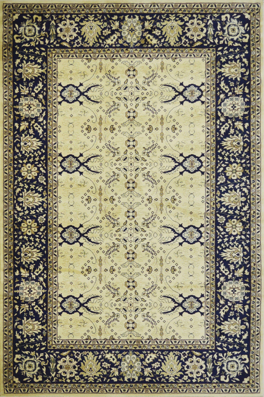 Χαλί Isfahan 121 Blue-Beige 140X200