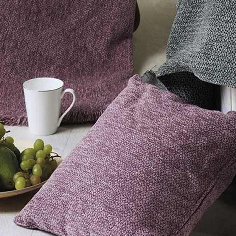 Μαξιλαροθήκη Best 35 Purple Kentia 50X50 Βαμβάκι-Ακρυλικό